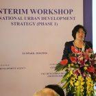 Hội thảo giữa kỳ xây dựng Chiến lược phát triển đô thị quốc gia