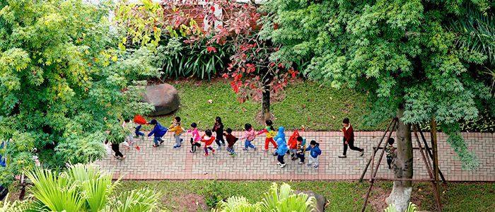 Muôn nẻo yêu thương nơi thành phố xanh Ecopark