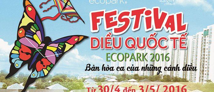 Festival diều quốc tế Ecopark – Điểm hẹn lý tưởng trong dịp nghỉ lễ dài