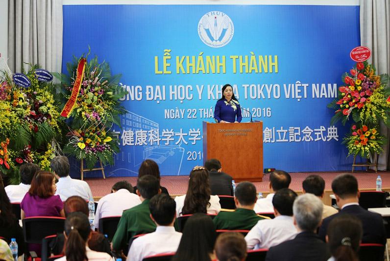 Trường ĐH Y khoa Tokyo Việt Nam chính thức khánh thành tại Ecopark