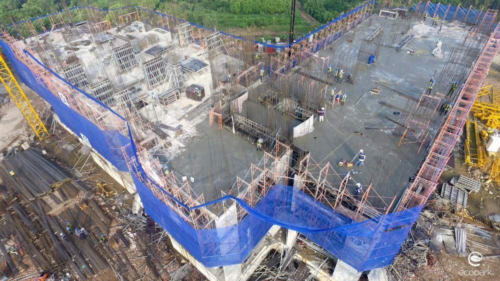 Cập nhật tiến độ dự án West Bay tháng 7/2016