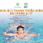 Điều lệ giải bơi thanh thiếu niên Ecopark 2017
