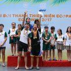 Những khoảnh khắc tuyệt đẹp của giải bơi Eco Swim 2017