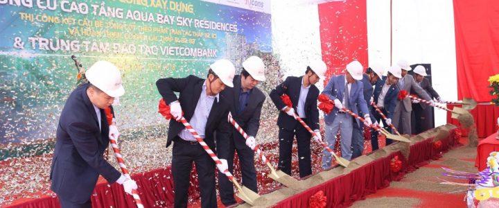 Ricons khởi công dự án Aqua Bay Sky Residences và Trung tâm đào tạo Vietcombank