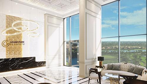 Tháp căn hộ đẳng cấp Grand Park Premium