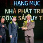 Ecopark nhận cùng lúc hai giải thưởng danh giá nhất tại Giải thưởng Quốc gia Bất động sản Việt Nam 2018