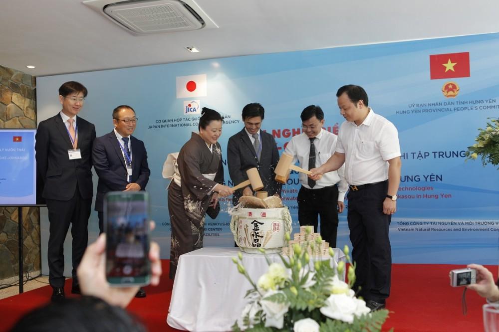 Ecopark ứng dụng công nghệ xử lý nước thải phi tập trung Johkasou Nhật Bản