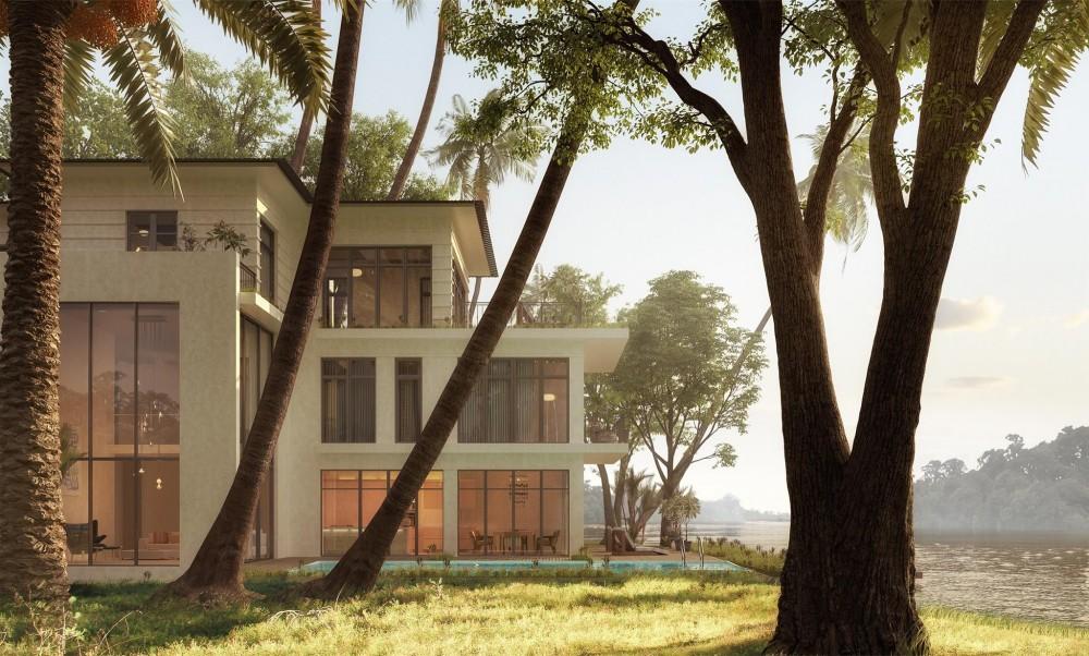 """Cơ hội """"mục sở thị"""" nhà mẫu biệt thự đảo Ecopark Grand- The Island"""