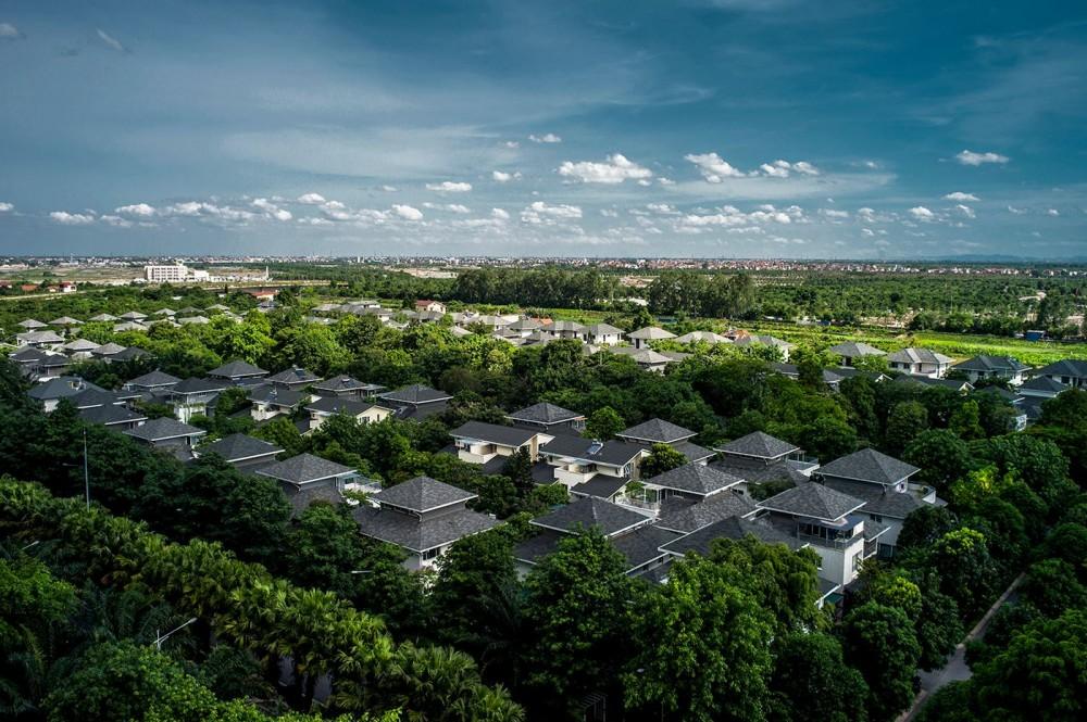 """Nhà đầu tư """"đổ bộ"""" bất động sản vùng thủ đô"""