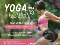 Bùng nổ cảm xúc cùng Yoga Camp tại Ecopark