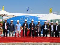 Chung cư cao cấp Aqua Bay Sky Residences vượt tiến độ xây dựng