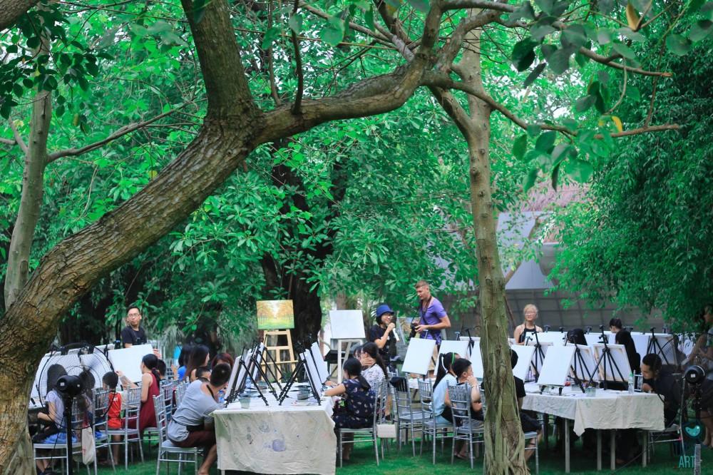 Đánh thức tâm hồn nghệ thuật với workshop Khúc Giao Mùa