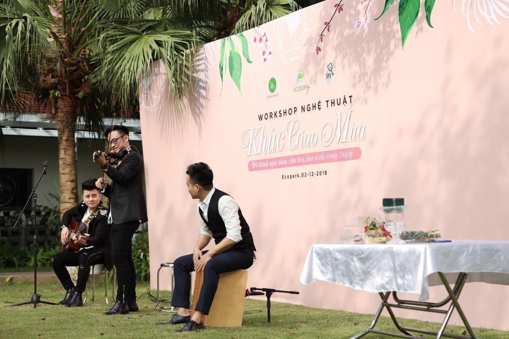 Khúc Giao Mùa - Trải nghiệm nghệ thuật hấp dẫn tại Ecopark