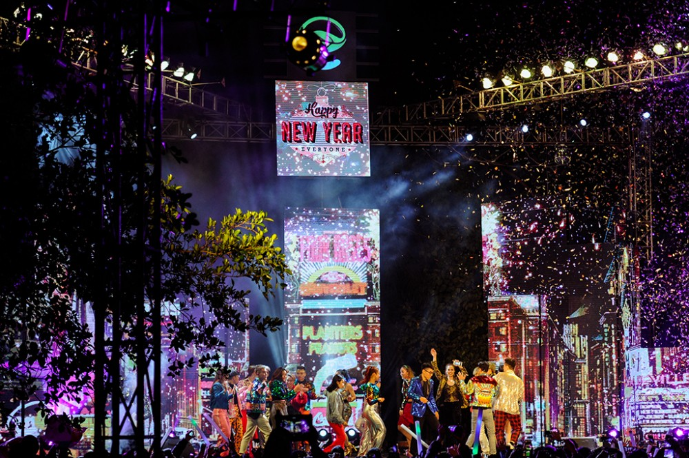 Lễ hội Countdown đáng nhớ tại khu đô thị đáng sống bậc nhất hiện nay