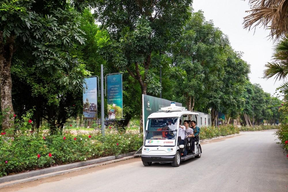 Ba ông lớn Yamaha, FPT, Ecopark hợp tác thử nghiệm xe điện tự lái