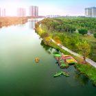 Con số ấn tượng tại Aqua Bay – Ecopark: Mua 1m2 nhà ở, hưởng 4,2m2 cảnh quan tiện ích