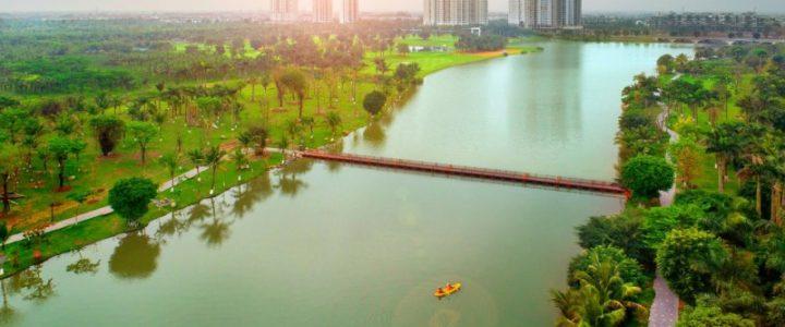 Aqua Bay Ecopark đẹp như resort, đẩy nhanh tiến độ hoàn thiện chào đón cư dân mới