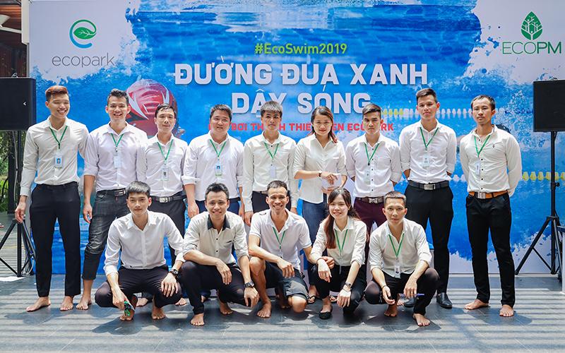 Giải bơi thanh thiếu niên Ecopark 2019 - Kình ngư nhí tranh tài quyết liệt