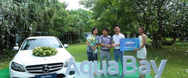 Khách Hàn Quốc trúng xe Mercedes khi mua căn hộ Aqua Bay – Ecopark