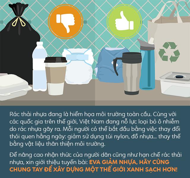 Lạ kỳ những chung cư giặt túi nilon, dùng lá chuối thay đồ nhựa