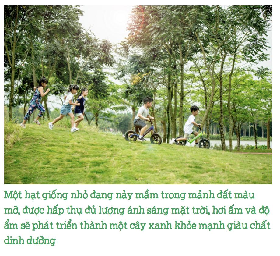 Dạy con kiểu Ecopark