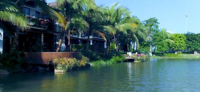 Không gian mặt nước đẳng cấp của biệt thự đảo Ecopark Grand – The Island