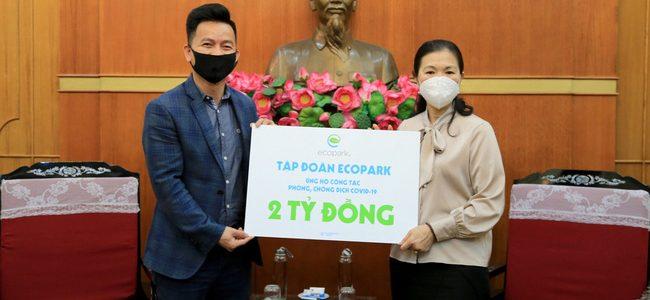 Tập đoàn Ecopark chung tay cùng cộng đồng phòng chống dịch Covid-19