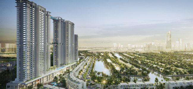 Triển khai tuyến phố đi bộ như trong sân bay Changi giữa lòng toà tháp cao cấp nhất Ecopark