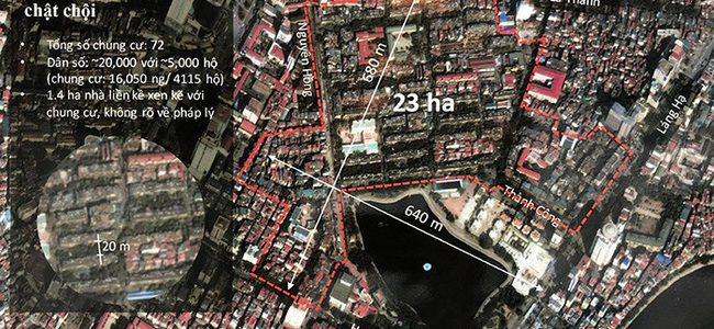 Ecopark thay đổi phương án về  ý tưởng xây mới khu tập thể Thanh Công