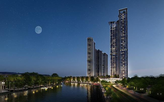 Triển khai toà tháp căn hộ 5 sao đầu tiên tại Ecopark với cầu pha lê trên độ cao 200m