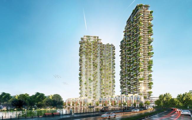 Tập đoàn thiết kế hàng đầu Dubai thiết kế tháp xanh biểu tượng Ecopark