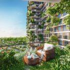 400 khu vườn trên cao tại toà tháp biểu tượng của Ecopark
