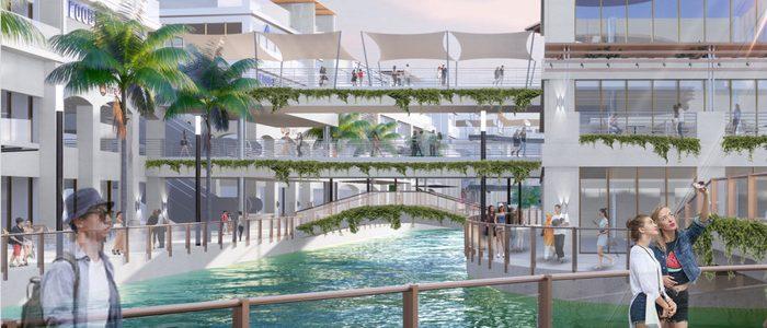 Triển khai tổ hợp mua sắm giải trí lớn nhất Hà Nội tại Ecopark