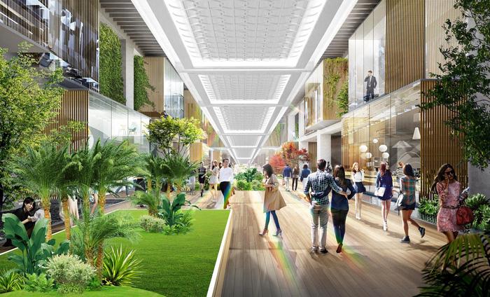 Triển khai tổ hợp mua sắm giải trí lớn nhất Hà Nội tại Ecopark - Ảnh 2.