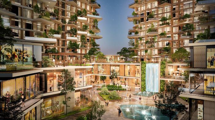 Triển khai tổ hợp mua sắm giải trí lớn nhất Hà Nội tại Ecopark - Ảnh 8.