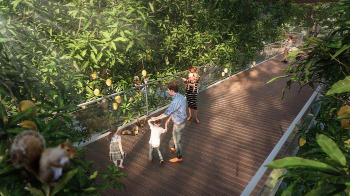 Triển khai tổ hợp mua sắm giải trí lớn nhất Hà Nội tại Ecopark - Ảnh 11.
