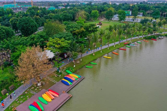 """Ecopark Marathon ấn tượng với """"cung đường chạy đẹp nhất Việt Nam"""" - Ảnh 5."""