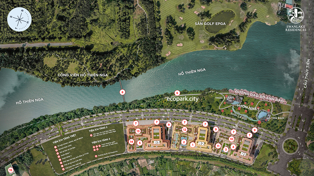 SWANLAKE RESIDENCES – The Onsen Ecopark